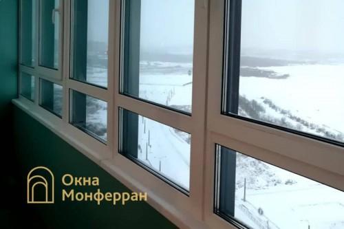 14 Замена холодного фасадного остекления на теплое ЖК Паруса