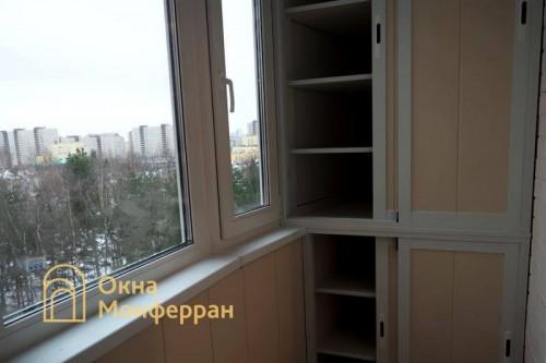 16 Замена холодного фасадного остекления на теплое ул. Асафьева