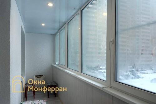 17 Замена холодного фасадного остекления на теплое гор. Кудрово