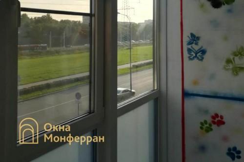 23 Замена холодного фасадного остекления на теплое ЖК Балтийская Жемчужина