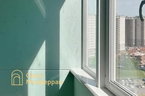 32 Замена холодного фасадного остекления на теплое, ЖК Триумф Парк