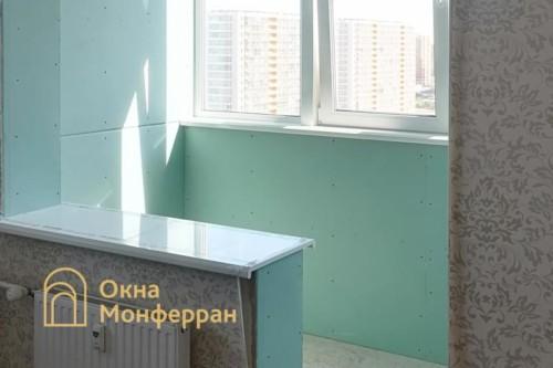 33 Замена остекления и присоединение балкона к комнате, ЖК Триумф Парк
