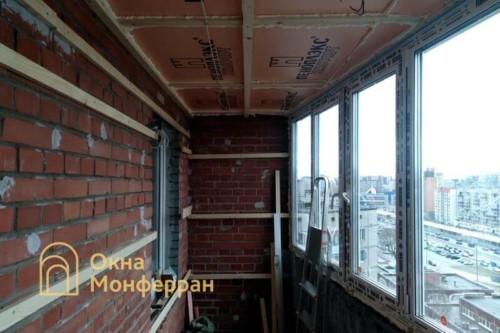 02 Монтаж остекления балкона