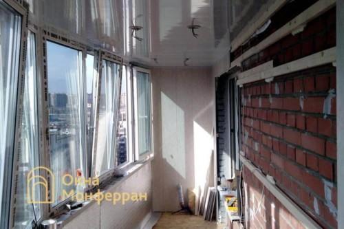 03 Утепление и отделка балкона