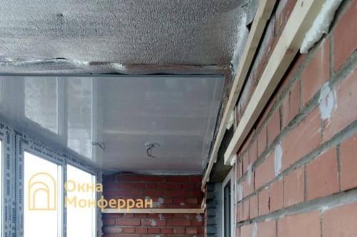 04 Утепление и отделка балкона