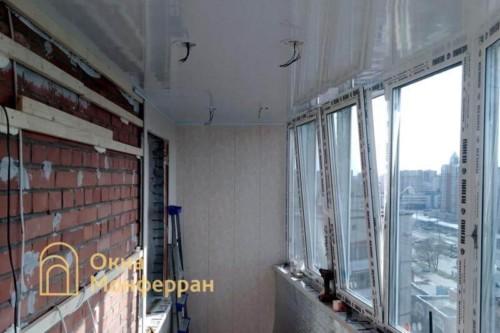 05 Утепление и отделка балкона