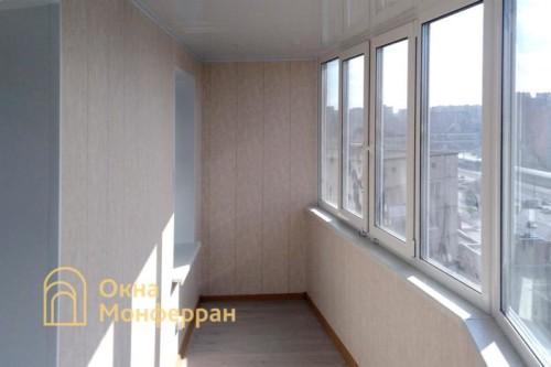 09 Остекление балкона под ключ