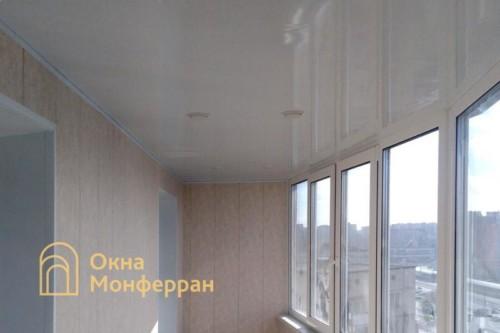 10 Остекление балкона под ключ
