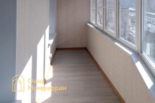11 Остекление балкона под ключ