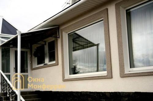 09 Пластиковые окна в коттедже пос Мистолово