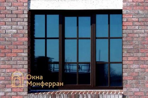 10 Пластиковое окно в коттедже пос Парголово