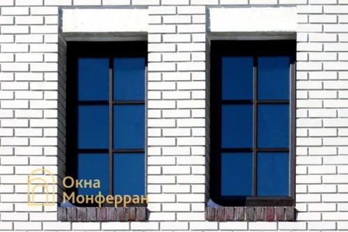 11 Пластиковые окна в коттедже, пос. Парголово