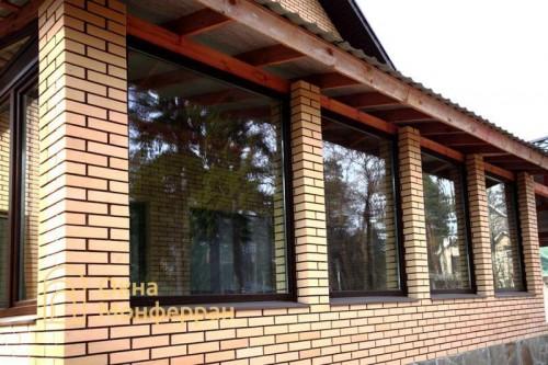 13 Пластиковые окна в коттедже гор Всеволожск