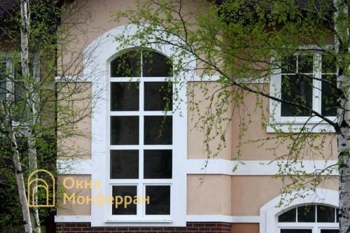 14 Пластиковое окно в коттедже пос Понтонный