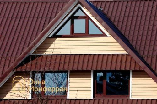 16 Пластиковые окна в коттедже пос Ново-Токсово