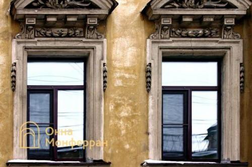 19 Пластиковые окна в старом фонде, ул. Достоевского