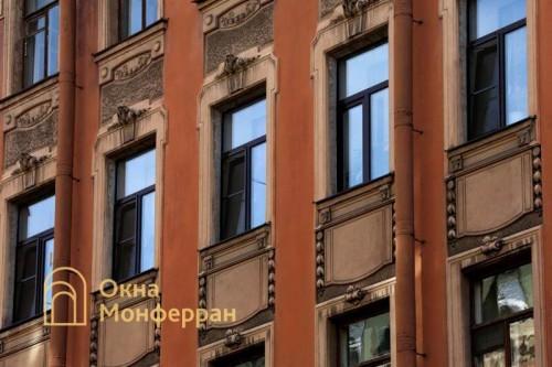 20 Пластиковые окна в старом фонде, ул. Верейская
