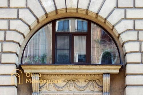 21 Арочное окно в сталинке, ул. Шевченко
