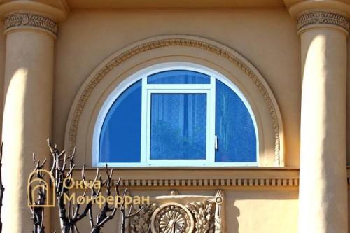 22 Арочное окно в сталинке гор Пушкин