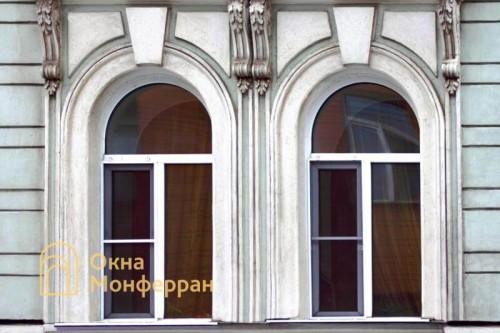23 Арочные окна в старом фонде, пр. Лермонтовский