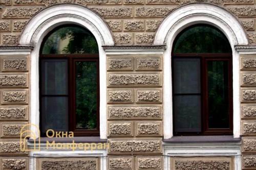 24 Арочные окна в старом фонде ул 5-я Красноармейская