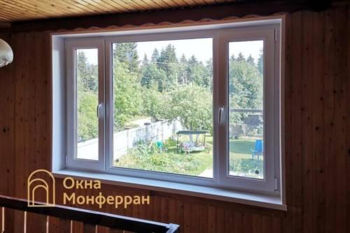 30 Установка пластиковых окон в коттедже, пос. станция Корнево