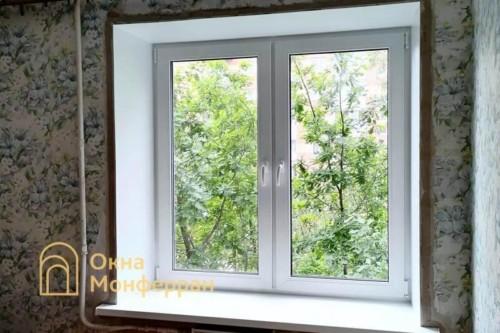 33 Установка пластикового окна в брежневке, ул. Турку