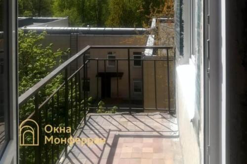 01 Балкон в панельном доме до выполнения работ