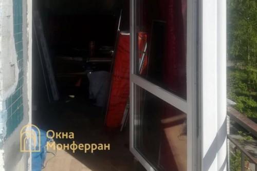 03 Балкон в панельном доме до выполнения работ