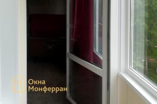 06 Монтаж теплого остекления балкона