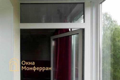 07 Монтаж теплого остекления балкона