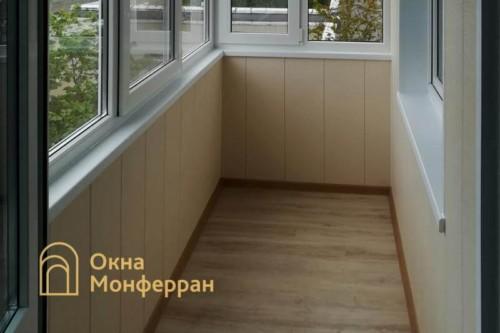 08 Отделка балкона