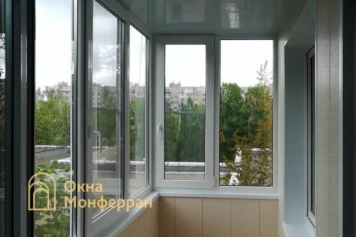 09 Отделка балкона