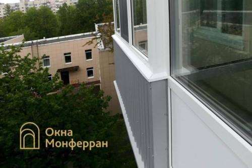 11 Остекление балкона в панельном доме