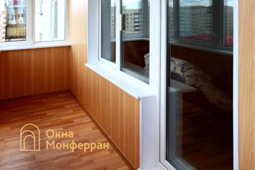 06 Балконный блок с отделкой под ключ, пос. Сертолово
