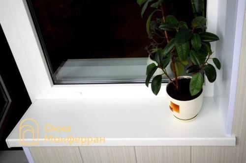 08 Подоконник балконного блока