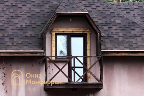 10 Балконный блок в коттедже, пос. Васкелово