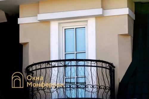 13 Балконная дверь в коттедже, пос. Парголово
