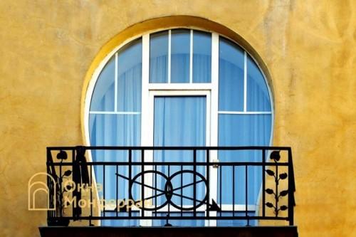 14 Арочная балконная дверь в старом фонде, пр. Средний В.О.