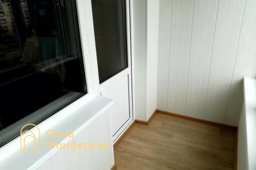 17 Установка балконного блока в 504 серии под ключ, ул. Будапештская