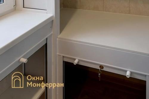 16 Монтаж шкафов из роллет