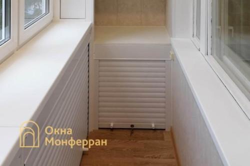 17 Монтаж шкафов из роллет