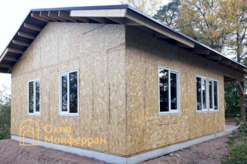 03 Остекление каркасно-щитового дома