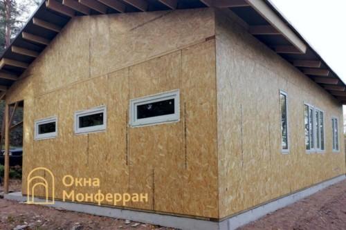 04 Остекление каркасно-щитового дома