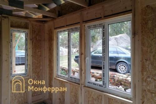 07 Остекление каркасно-щитового дома