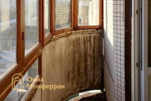01 Скругленный балкон до выполнения работ