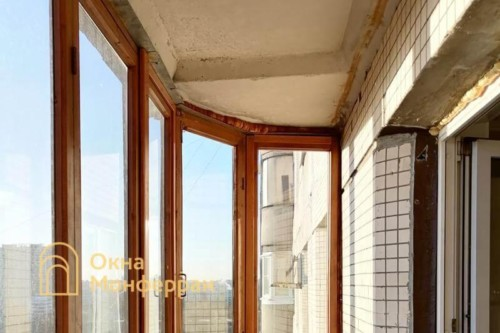 02 Скругленный балкон до выполнения работ