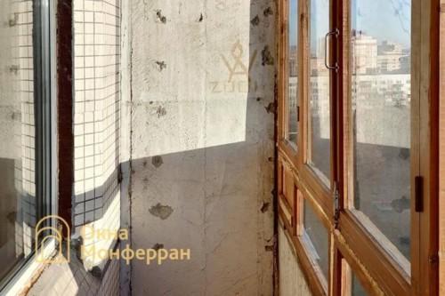 03 Скругленный балкон до выполнения работ