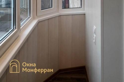 04 Остекление скругленного балкона под ключ