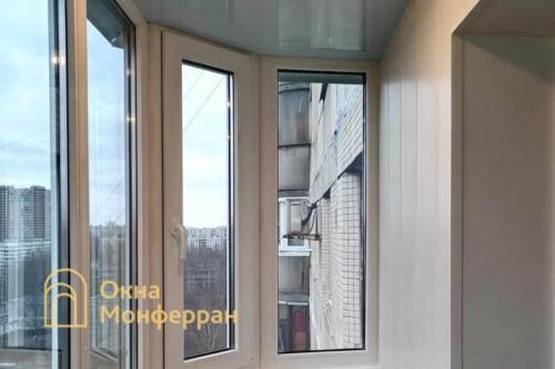 05 Остекление скругленного балкона под ключ